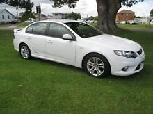 2010 Ford Falcon FG XR6 White 6 Speed Sports Automatic Sedan East Kempsey Kempsey Area Preview