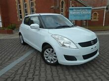 2012 Suzuki Swift  White Automatic Hatchback Nailsworth Prospect Area Preview
