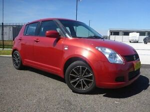 2005 Suzuki Swift RS415 Red 4 Speed Automatic Hatchback Singleton Singleton Area Preview