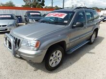 2001 Jeep Grand Cherokee WG MY2001 Limited Silver 5 Speed Automatic Wagon Werribee Wyndham Area Preview