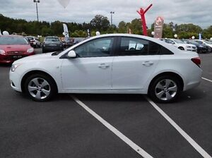 2013 Holden Cruze JH Series II MY13 Equipe White 6 Speed Sports Automatic Sedan Traralgon Latrobe Valley Preview