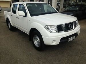 2013 Nissan Navara D40 S8 RX 4x2 White 5 Speed Automatic Utility Bridgewater Adelaide Hills Preview