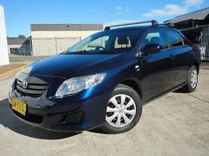 2008 Toyota Corolla ZRE152R Ascent Blue 4 Speed Automatic Sedan Windsor Hawkesbury Area Preview