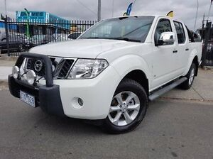 2013 Nissan Navara D40 S5 MY12 ST-X Blackline White 7 Speed Sports Automatic Utility Dandenong Greater Dandenong Preview
