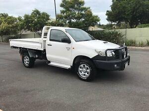 2011 Toyota Hilux KUN26R SR White 5 Speed Manual Single Cab Chermside Brisbane North East Preview