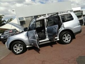 2007 Mitsubishi Pajero NS VR-X Silver 5 Speed Sports Automatic Wagon Kirrawee Sutherland Area Preview