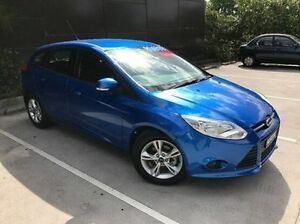 2014 Ford Focus LW MKII MY14 Trend PwrShift Blue 6 Speed Sports Automatic Dual Clutch Hatchback Wolli Creek Rockdale Area Preview