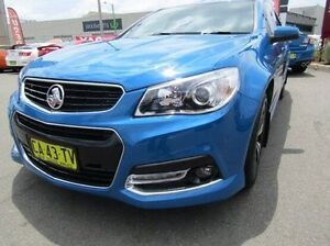 2014 Holden Ute VF MY14 SV6 Ute Storm Blue 6 Speed Manual Utility Cardiff Lake Macquarie Area Preview