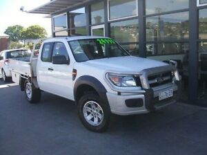 2011 Ford Ranger PK XL Super Cab White 5 Speed Manual Cab Chassis Hobart CBD Hobart City Preview