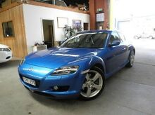 2004 Mazda RX-8 FE1031 Blue 6 Speed Manual Coupe Heidelberg Heights Banyule Area Preview
