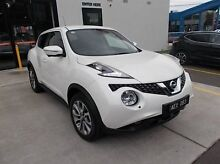 2015 Nissan Juke  White Constant Variable Hatchback Burwood Whitehorse Area Preview