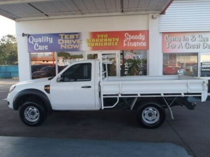 2010 Ford Ranger PK XL Hi-Rider White 5 Speed Manual Cab Chassis Mysterton Townsville City Preview