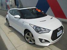 2013 Hyundai Veloster FS2 SR Coupe Turbo White 6 Speed Sports Automatic Hatchback Bunbury 6230 Bunbury Area Preview