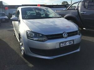 2013 Volkswagen Polo 6R MY14 77TSI Comfortline Silver 6 Speed Manual Hatchback Heidelberg Heights Banyule Area Preview