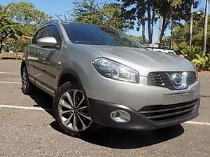 2011 Nissan Dualis J10 Series II MY2010 Ti X-tronic AWD Silver 6 Speed Constant Variable Hatchback Stuart Park Darwin City Preview