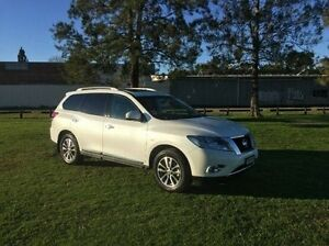 2016 Nissan Pathfinder R52 MY16 ST-L X-tronic 2WD White 1 Speed Constant Variable Wagon East Kempsey Kempsey Area Preview
