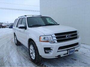 2015 FORD EXPEDITION 4X4 LIMITED 301A; 8-Passenger, Ambient Ligh