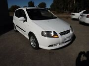 2008 Holden Barina TK MY08 White 5 Speed Manual Hatchback Yarrawonga Moira Area Preview
