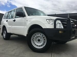 2011 Mitsubishi Pajero NW MY12 GL White 5 Speed Sports Automatic Wagon Invermay Launceston Area Preview
