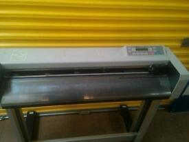 Professional vinyl cutter plotter Graphic Design DGI Omega OM-80 Quality Business Equipment