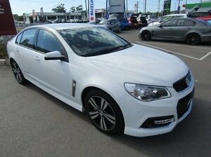 2015 Holden Commodore VF MY15 SV6 Storm White 6 Speed Sports Automatic Sedan Cardiff Lake Macquarie Area Preview