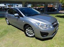2015 Subaru Impreza  Silver Constant Variable Sedan Victoria Park Victoria Park Area Preview