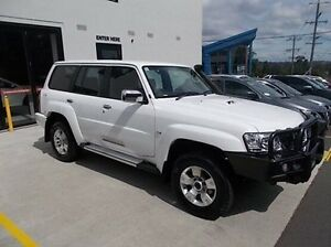 2016 Nissan Patrol Y61 GU 10 ST White 4 Speed Automatic Wagon Burwood Whitehorse Area Preview