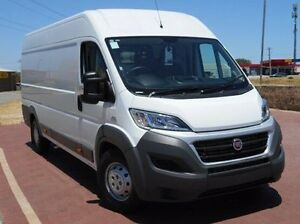 2016 Fiat Ducato Series 4 Mid Roof XLWB Comfort-matic White 6 Speed Sports Automatic Single Clutch Spearwood Cockburn Area Preview