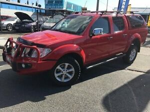 2012 Nissan Navara D40 S5 MY12 ST-X 550 Red 7 Speed Sports Automatic Utility Dandenong Greater Dandenong Preview