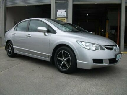 2007 Honda Civic 8th Gen MY07 VTi Silver 5 Speed Manual Sedan Invermay Launceston Area Preview