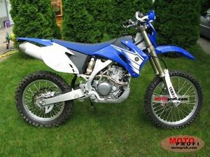 Wanted to buy 2007 Yamaha wr250