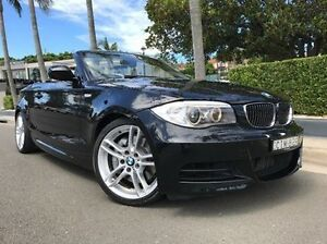 2012 BMW 135I E88 LCI MY0312 M Sport D-CT Black 7 Speed Sports Automatic Dual Clutch Convertible Summer Hill Ashfield Area Preview