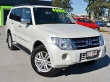 2013 Mitsubishi Pajero NW MY14 Exceed White 5 Speed Sports Automatic Wagon Springwood Logan Area Preview