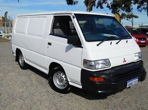 2011 Mitsubishi Express SJ MY11 SWB White 5 Speed Manual Van Pearsall Wanneroo Area Preview