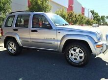 2003 Jeep Cherokee KJ MY2003 Limited Silver 4 Speed Automatic Wagon Beckenham Gosnells Area Preview