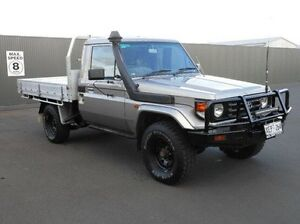 2005 Toyota Landcruiser HDJ79R Grey 5 Speed Manual Cab Chassis Mount Gambier Grant Area Preview
