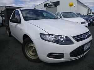 2013 Ford Falcon FG MkII Super Cab White 6 Speed Sports Automatic Cab Chassis Mitchell Park Ballarat City Preview