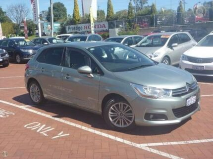 2012 Citroen C4 B7 Seduction Green 4 Speed Sports Automatic Hatchback Myaree Melville Area Preview