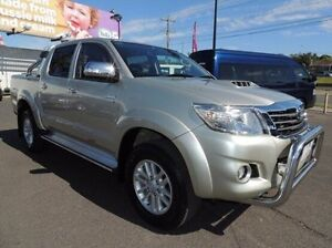 2014 Toyota Hilux KUN26R MY14 SR5 Double Cab Silver 5 Speed Automatic Utility Oakleigh Monash Area Preview