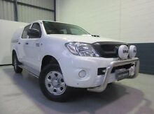 2010 Toyota Hilux KUN26R MY10 SR White 5 Speed Manual Utility Blair Athol Port Adelaide Area Preview