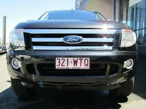 2013 Ford Ranger PX XLT Double Cab Black 6 Speed Manual Utility Earlville Cairns City Preview