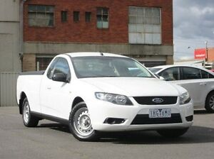 2010 Ford Falcon FG Ute Super Cab White 4 Speed Automatic Utility Preston Darebin Area Preview