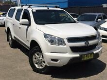 2012 Holden Colorado RG MY13 LT Crew Cab White 6 Speed Sports Automatic Utility Kings Park Blacktown Area Preview