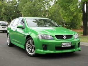 2008 Holden Commodore VE MY09 SV6 Sportwagon Green 5 Speed Sports Automatic Wagon Medindie Gardens Prospect Area Preview