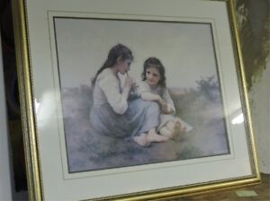 """""""A Childhood Idyll"""" Classic print by William-Adolphe Bouguereau. London Ontario image 2"""