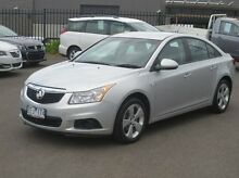 2012 Holden Cruze JH Series II MY12 Equipe Silver 6 Speed Sports Automatic Sedan Coolaroo Hume Area Preview