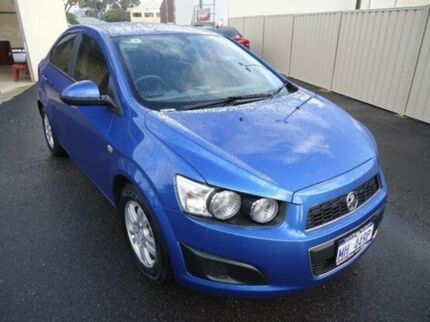 2012 Holden Barina TM Boracay Blue 5 Speed Manual Sedan Mandurah Mandurah Area Preview