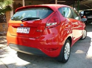 2011 Ford Fiesta WT LX PwrShift Red 6 Speed Sports Automatic Dual Clutch Hatchback Deagon Brisbane North East Preview