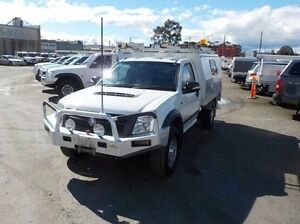 2008 Holden Rodeo White Manual Cab Chassis Pakenham Cardinia Area Preview
