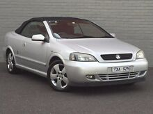 2006 Holden Astra TS MY06 Silver 4 Speed Automatic Convertible Southbank Melbourne City Preview